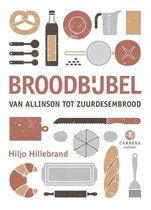 Boek cover Kookbijbels  -   Broodbijbel van Hiljo Hillebrand (Hardcover)