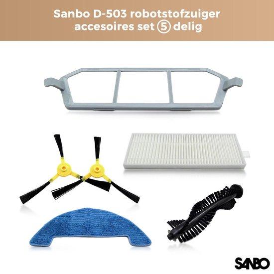 Sanbo - D-503 - Robotstofzuiger - Accessoires Set