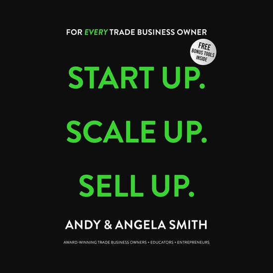 Boek cover Start Up. Scale Up. Sell Up. van Andy Smith (Onbekend)
