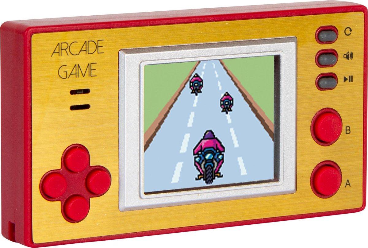 Silvergear Retro Mini Spelcomputer Console met Klassieke Nostalgische Games