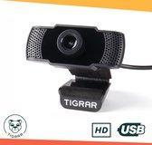 Tigrar webcam voor pc met Microfoon - Full HD - 1080p - Geen Driver Nodig - Plug and Play - Usb Webcam - Streaming Webcam - Thuiswerken -  Webcams - voor PC met Perfect Beeld voor Video Bellen!