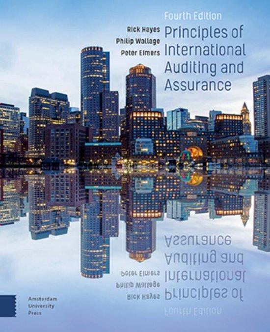 Boek cover Principles of International Auditing and Assurance van Rick Hayes (Paperback)