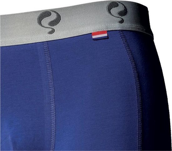 Q1905-Quick Heren Boxer 2-Pack  -  Blue / Red