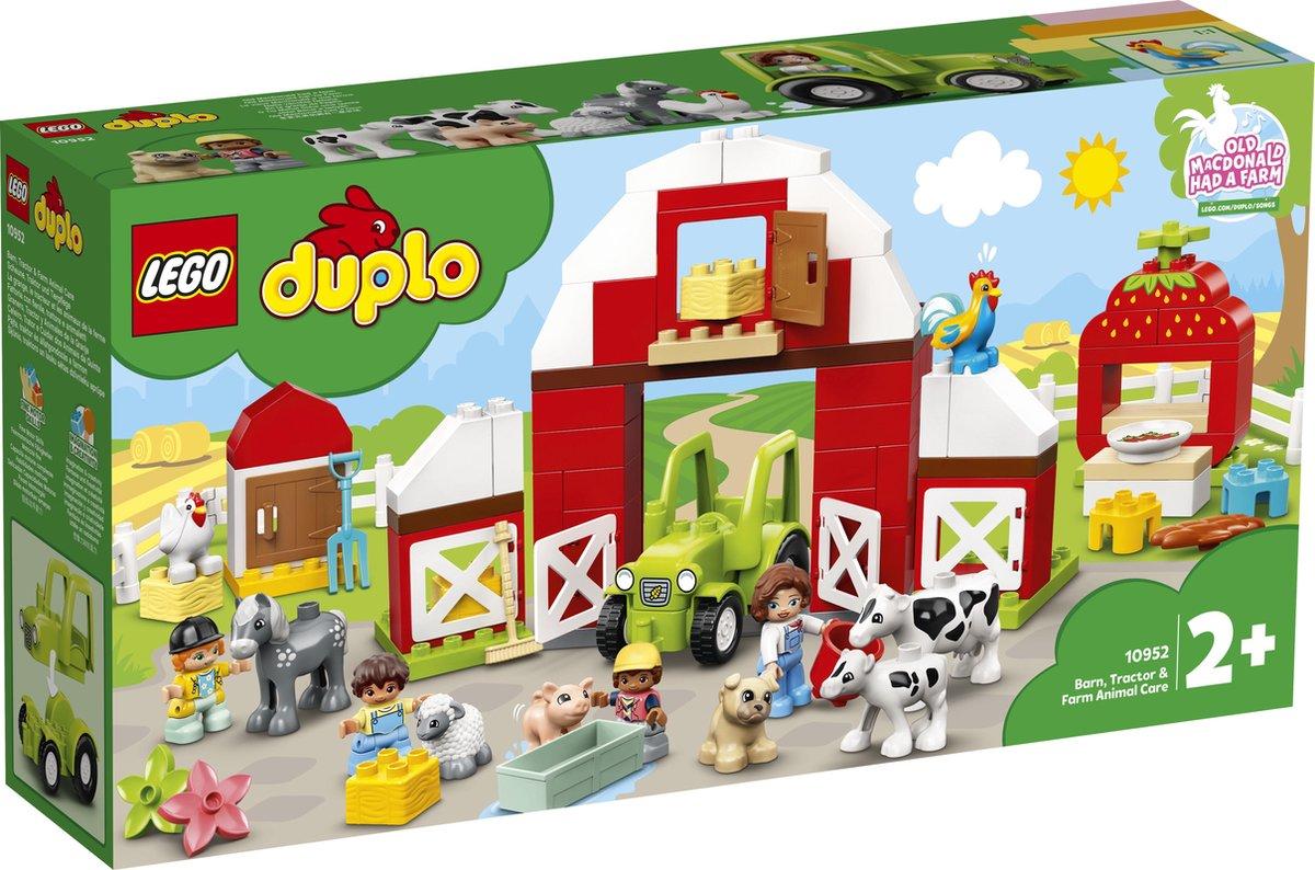 LEGO DUPLO Schuur, Tractor & Boerderijdieren Verzorgen - 10952