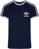 Adidas ESS Men T-Shirt Heren Navy - Maat L