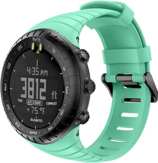 Suunto Core Horlogebandje Bandje Polsband Siliconen - Turquoise