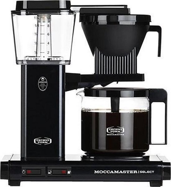 Filterkoffiemachine KBG Select, Black – Moccamaster