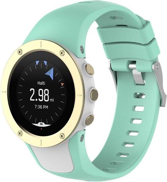 Suunto Spartan Trainer / Spartan Trainer Wrist HR Bandje - Horlogebandje - Polsbandje - Bandjes.nu - Polsband – Turquoise