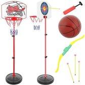 Sport set voor kinderen - Basketbal set met pomp en bal. Inclusief Pijl en Boog set met schietbord