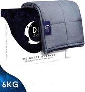 Diley Dreams ® Verzwaringsdeken 6 kg - Te gebruiken met je eigen dekbedovertrek - Verzwaarde Deken - Weighted Blanket - Zware Deken - Inclusief 2 jaar garantie - 150 x 200 cm