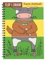 Eerste tekenboek - Boerderijdieren - Flip & draw