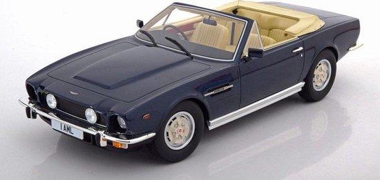 Aston Martin V8 Volante Cabriolet 1978 Blue Metall