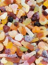 Vegan Snoep Mix 500 gram + 50 gram GRATIS - Voordeelverpakking - Biologisch - Glutenvrij - Gelatinevrij Snoep - Halal Snoep - Veganistisch snoep - Vegan - Traktatie - Diervrij