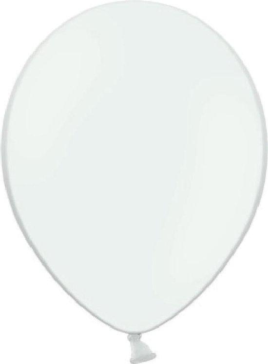 Belbal witte ballonnen 50 stuks