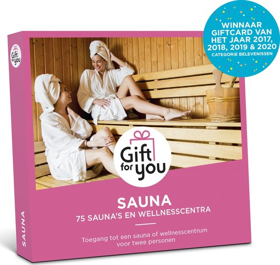 GiftForYou Cadeaubon – Sauna