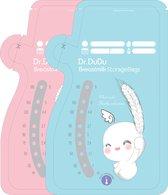 Dr.DuDu - Moedermelk Bewaarzakjes - Borstvoeding Bewaarzakje - Bewaarzakjes Moedermelk - Borstvoeding Zakjes - 180 ml - 60 Stuks
