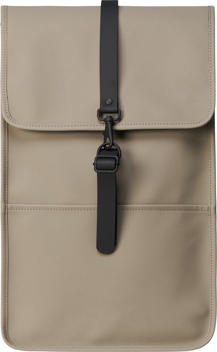 Rains Backpack Taupe Unisex - One Size