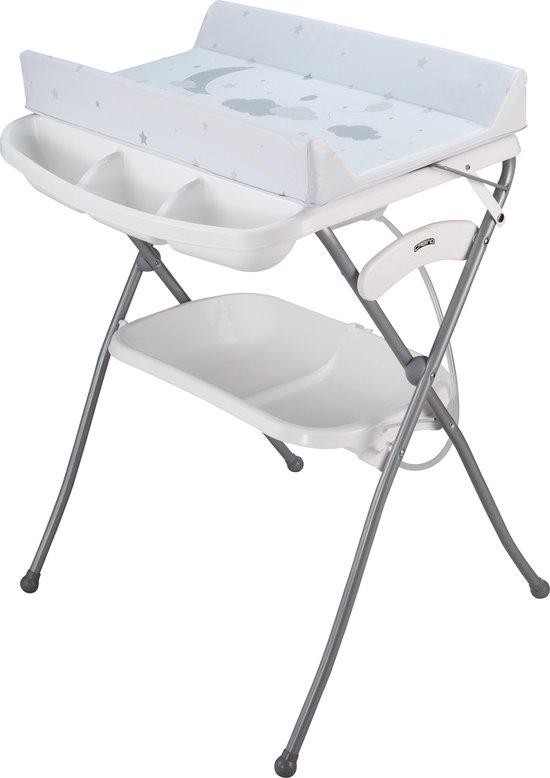 Product: Cabino Badcommode Wolkjes - Wit/Grijs, van het merk cabino