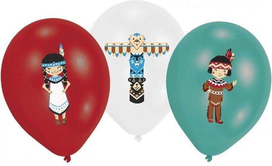 Indiaan Ballonnen, verjaardag, Kinderen, Themafeest