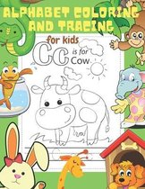 Alphabet Coloring and Tracing for Kids