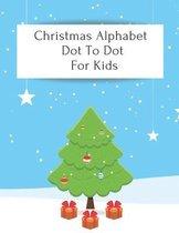 Christmas Alphabet Dot To Dot For Kids