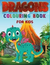 Dragons Colouring Book For Kids