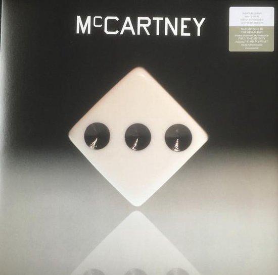 CD cover van Paul McCartney - III (White) van Paul McCartney