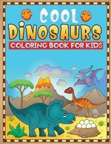 cool dinosaurs coloring book for kids