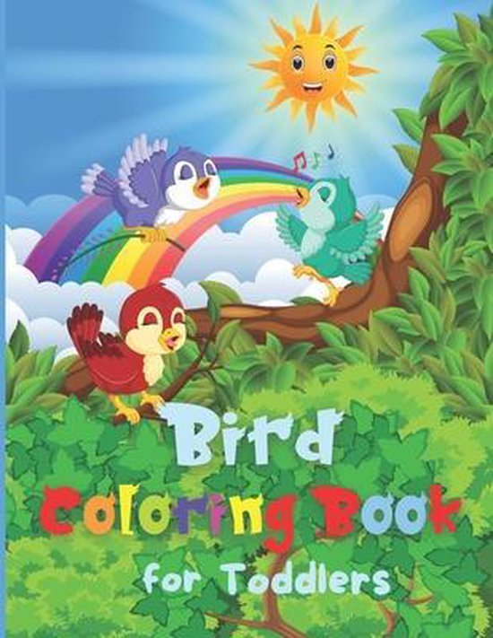 Bird Coloring Book for Toddlers