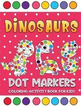 dinosaurs dot markers coloring activity book for kids