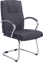 Clp Basel V2  - Bezoekersstoel - Stof - Donkergrijs