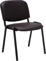 Clp Bezoekersstoel, wactkamerstoel, conferentiestoel KEN  - stapelbare stoel - Bruin