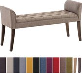 Clp Cleopatra Chaise longue - Stof - taupe antiek donker