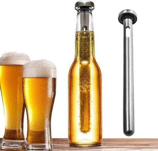 Bier en wijn koeler - Bier koel staaf - voor koud bier en wijn - Bierkoeler - Wijnkoeler - Drankkoeler - Drankjes koeler - Drank - Fris drinken - Barbecue - Barbeque - BBQ – Ijskoud – Wijnfles – Bierfles
