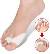 Now4You Hallux Valgus Siliconen Teenspreiders - 2 stuks