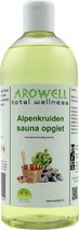 Arowell - Alpenkruiden sauna opgiet saunageur opgietconcentraat - 1 ltr