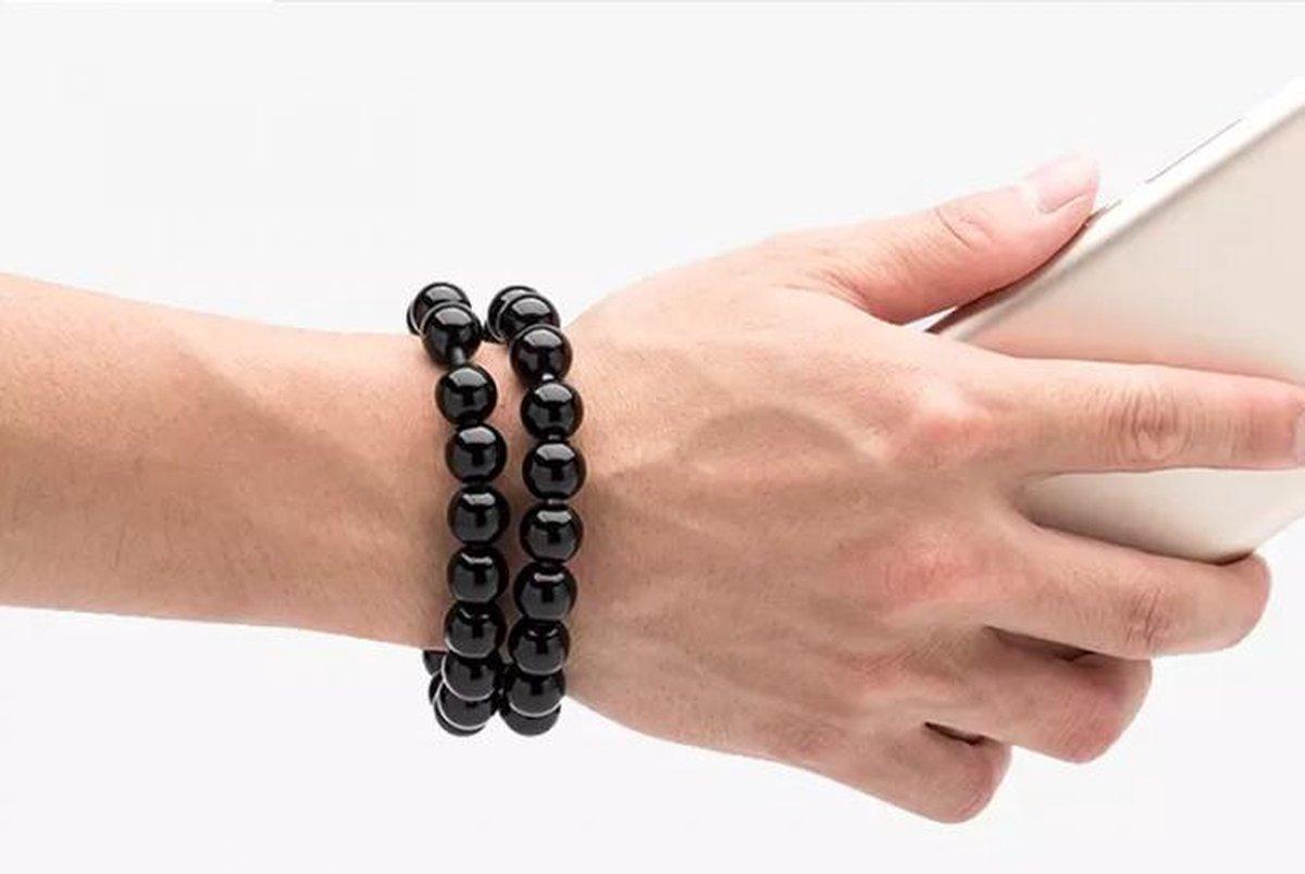 Buddha Oplader Armband - Lightning Iphone Aansluiting - Stijlvol & Altijd op zak - Oplaad Kabel - Underdog Tech