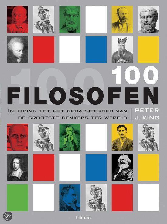 Cover van het boek '100 filosofen'