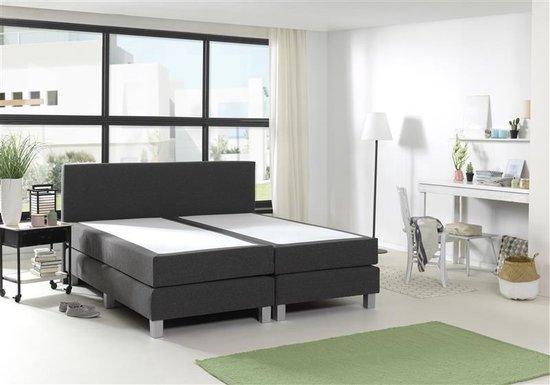 ACTIE! Sleeptime - Comfort Boxspring - Tweepersoons - 160x200 - Antraciet - Sleeptime