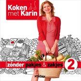 Boek cover Koken met Karin  -  Zonder pakjes & zakjes 2 van Karin Luiten (Hardcover)