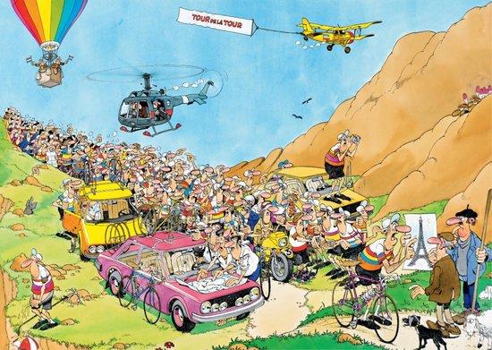 Jan van Haasteren Tour de France 3 in 1 puzzel - 1000 stukjes - Jan van Haasteren