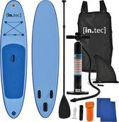 [in.tec]® Opblaasbaar SUP Board met accessoires - blauw
