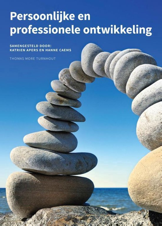 Persoonlijke en professionele ontwikkeling - Hanne Caems  