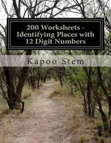 200 Worksheets - Identifying Places with 12 Digit Numbers