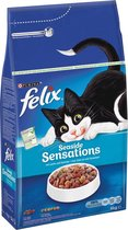 Felix Ocean Sensations - Zalm/Koolvis/Groenten - Kattenvoer - 4 kg