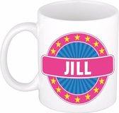 Jill naam koffie mok / beker 300 ml  - namen mokken