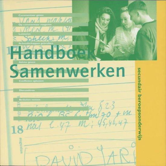 Handboek samenwerken secondair beroepsonderwijs - E. de Boer | Fthsonline.com