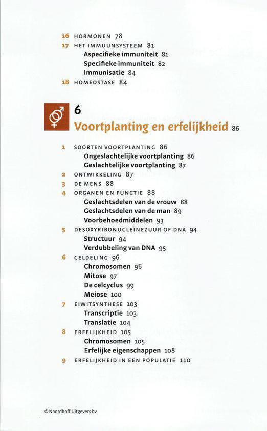 Noordhoff Biologie in je pocket - J.T. Boer