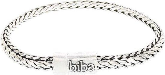 Biba metalen armband met V in V schakel 20,5 cm|blingdings