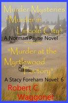 Omslag Murder Mysteries Series six